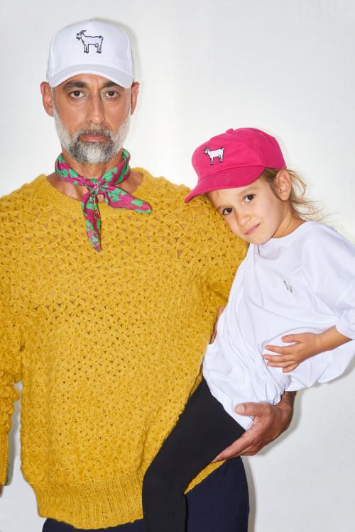 Flower Handknit Sweater –...
