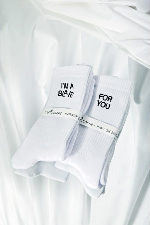 Karaok Socks – White (6 songs)