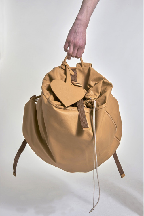 Baggy Backpack - Tan Brown