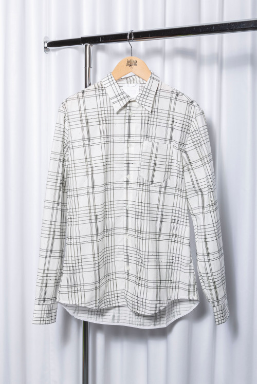 The Shirt Story – Tartan White